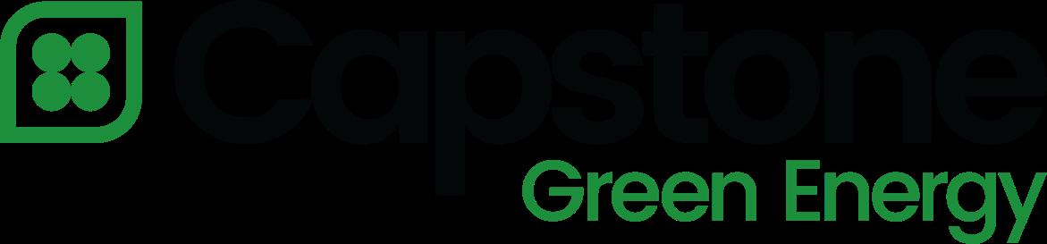 Capstone Green energy new logo-Cap Turbine