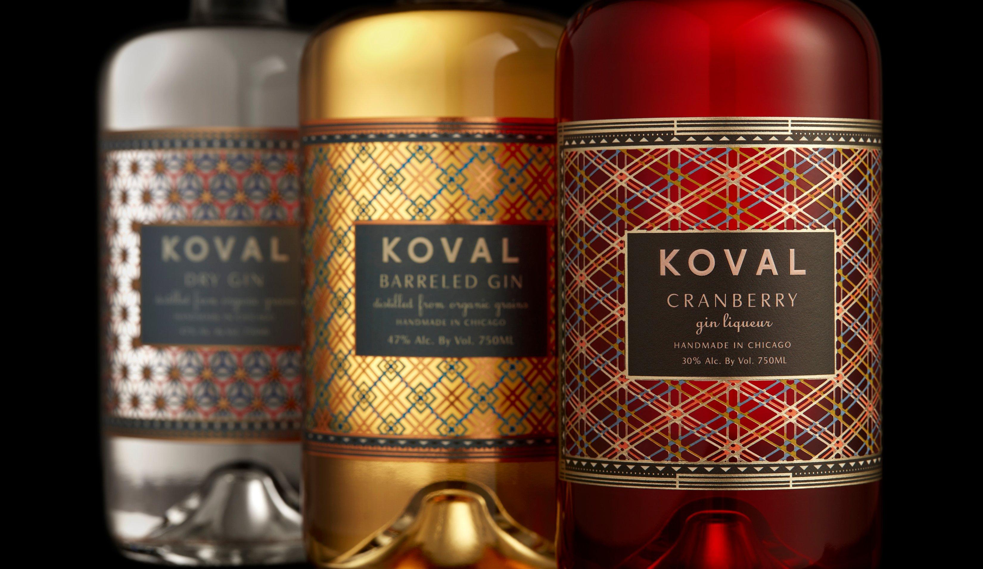 KOVAL Gin Trio (4)