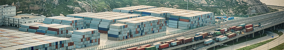 Image of cargo containers