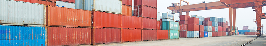 Image of shipment containers